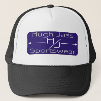 hugh jass trucker hat