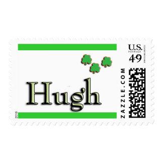 Hugh US Postage Stamp