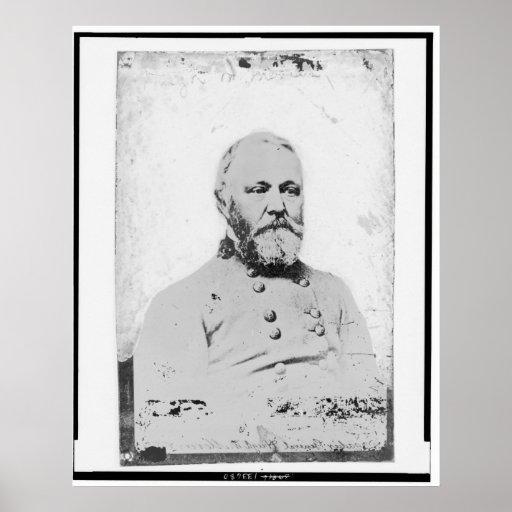 Hugh W. Mercer, general de brigada confederado Póster