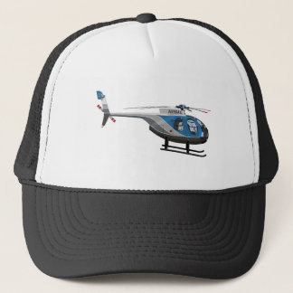 Hughes 500D N556AC Trucker Hat