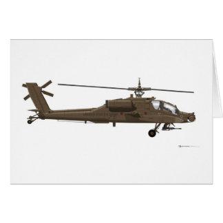 Hughes AH-64 Apache Cards