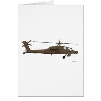 Hughes AH-64 Apache Card