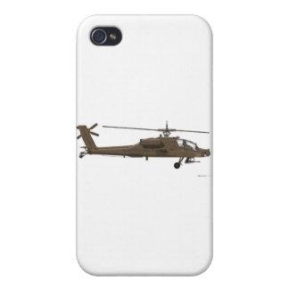 Hughes AH-64 Apache iPhone 4 Covers