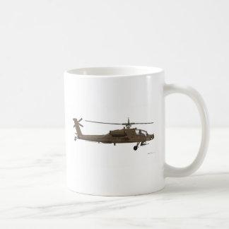 Hughes AH-64 Apache Classic White Coffee Mug
