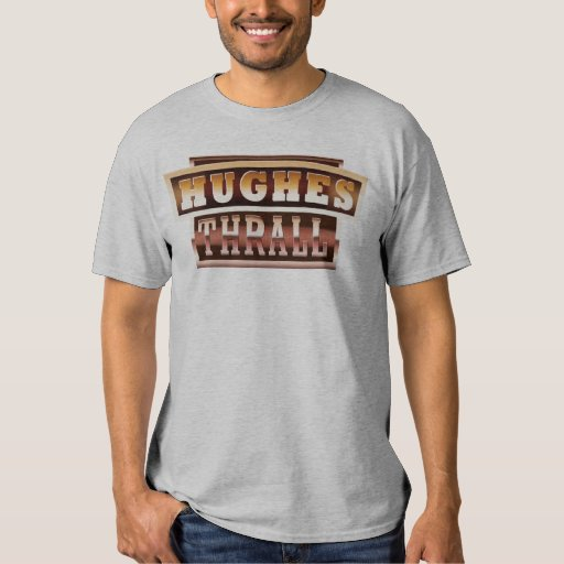Hughes/camiseta de la oscuridad de la dependencia poleras