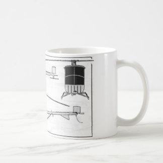 Hughes Cbi 300 Classic White Coffee Mug