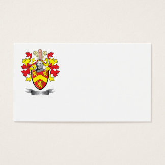 Hughes Coat of Arms Business Card