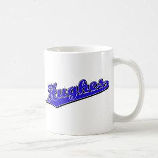 Hughes en azul taza de café