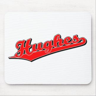 Hughes en rojo tapetes de ratones