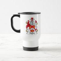 Hughes Family Crest Mug