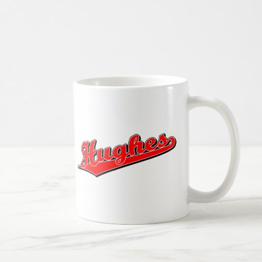 Hughes in Red Classic White Coffee Mug