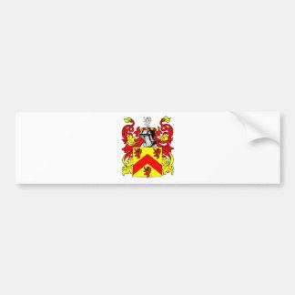 Hughes (Irish) Coat of Arms Bumper Sticker