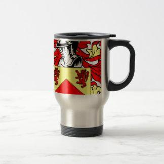 Hughes (Irish) Coat of Arms Travel Mug
