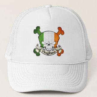 Hughes Irish Skull Trucker Hat