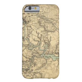 Hughes Military Map Of Richmond and Petersburgh Barely There iPhone 6 Case