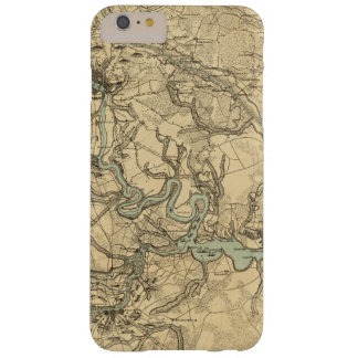Hughes Military Map Of Richmond and Petersburgh Barely There iPhone 6 Plus Case