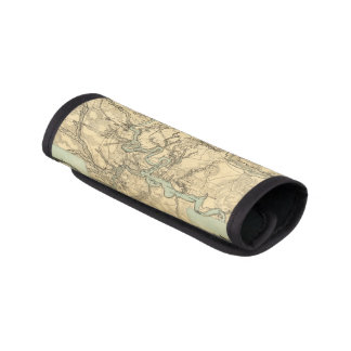 Hughes Military Map Of Richmond and Petersburgh Handle Wrap