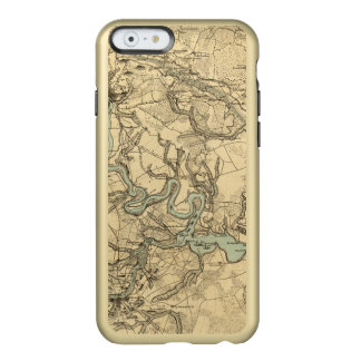 Hughes Military Map Of Richmond and Petersburgh Incipio Feather® Shine iPhone 6 Case