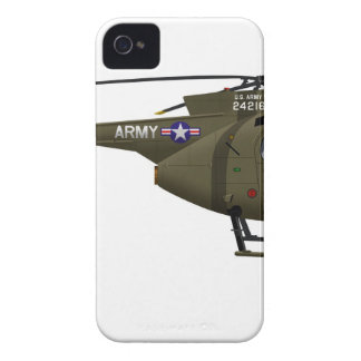 Hughes OH-6 Cayuse Cav iPhone 4 Cover