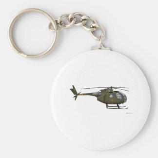 Hughes OH-6 Cayuse Cav Keychain