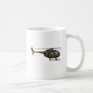 Hughes OH-6 Cayuse Cav Classic White Coffee Mug