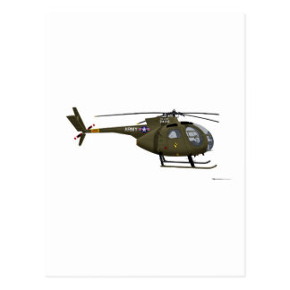 Hughes OH-6 Cayuse Cav Postcard