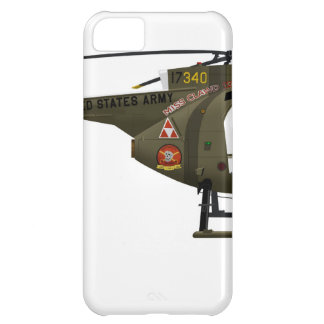 Hughes OH-6 Cayuse Miss Clawd iPhone 5C Case