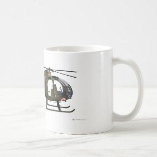 Hughes OH-6 Cayuse Miss Clawd Classic White Coffee Mug