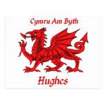 Hughes Welsh Dragon Post Card
