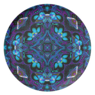 """Hughie Kattorz"" Designer Platter Dinner Plate"