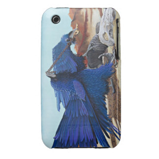 Huginn y Muninn - cuervos con el tesoro iPhone 3 Case-Mate Carcasas