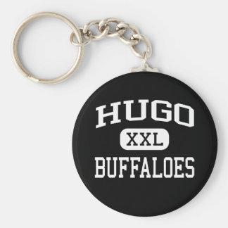 Hugo - Buffaloes - High School - Hugo Oklahoma Key Chains