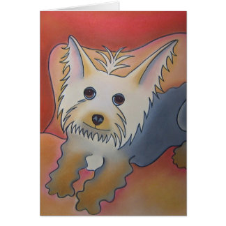Hugo by Robyn Feeley Card