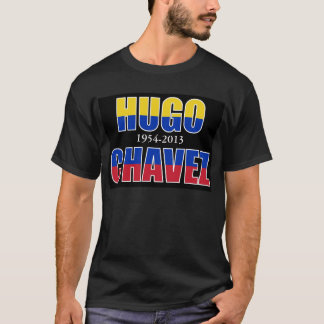 Hugo Chavez Dead Black T Shirt