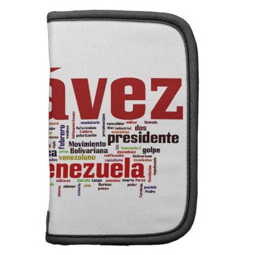 Hugo Chavez - estilo colorido de muchas palabras Planificadores