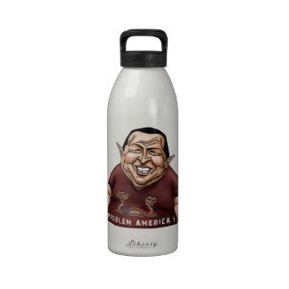Hugo Chavez - estilo de América del problema Botallas De Agua