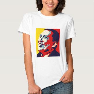 Hugo Chavez - estilo de la esperanza de Obama Poleras