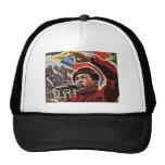 Hugo Chavez - estilo de la revolución del dibujo a Gorro De Camionero