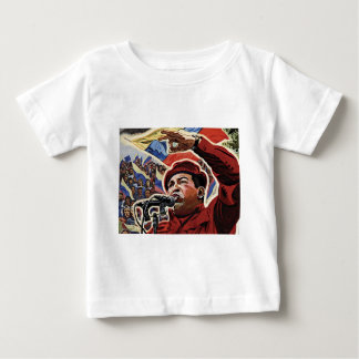 Hugo Chavez - estilo de la revolución del dibujo Playeras