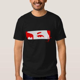Hugo Chávez: Eyes and signature (red) T-Shirt