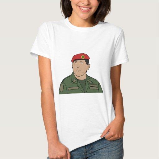 Hugo Chavez - Hugo el estilo del dibujo animado de Playeras
