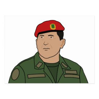Hugo Chavez - Hugo el estilo del dibujo animado de Postales