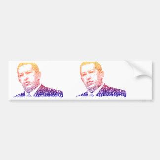 Hugo Chavez - Hugo en estilo de las palabras Pegatina Para Auto