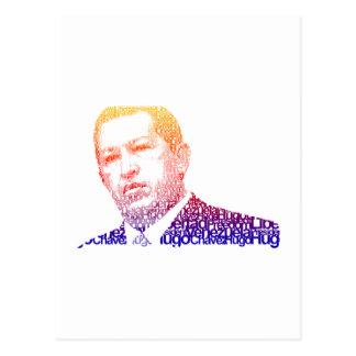 Hugo Chavez - Hugo en estilo de las palabras Postales