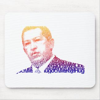 Hugo Chavez - Hugo en estilo de las palabras Tapetes De Ratón