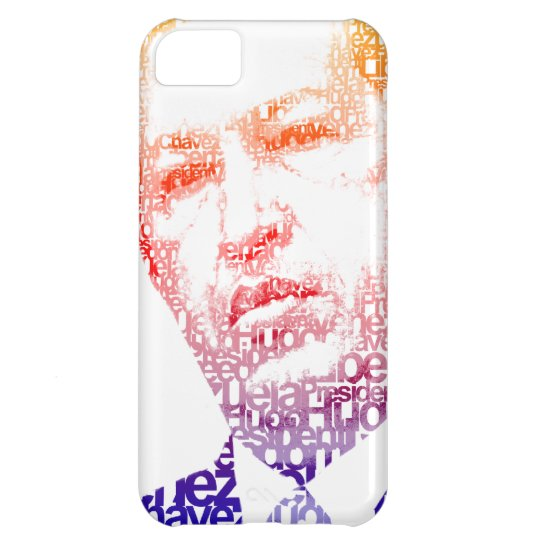 Hugo Chavez - Hugo in Words style Cover For iPhone 5C