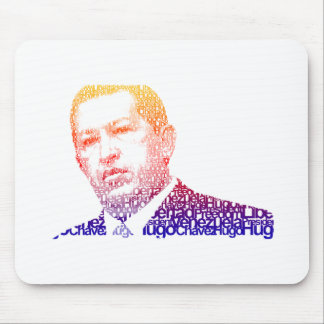 Hugo Chavez - Hugo in Words style Mouse Pad