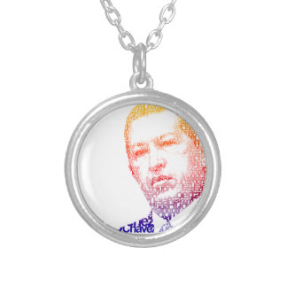 Hugo Chavez - Hugo in Words style Personalized Necklace