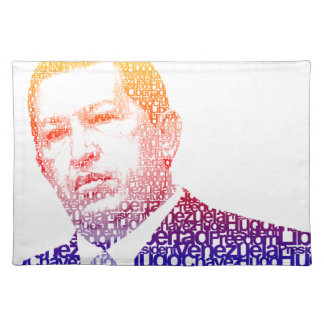 Hugo Chavez - Hugo in Words style Place Mat