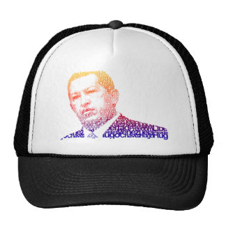 Hugo Chavez - Hugo in Words style Trucker Hat
